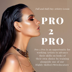 PRO TO PRO ARTIST TRAINING- FULL DAY With Pro Educator