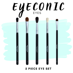 EyeConic Eyes - Five Piece Brush Set