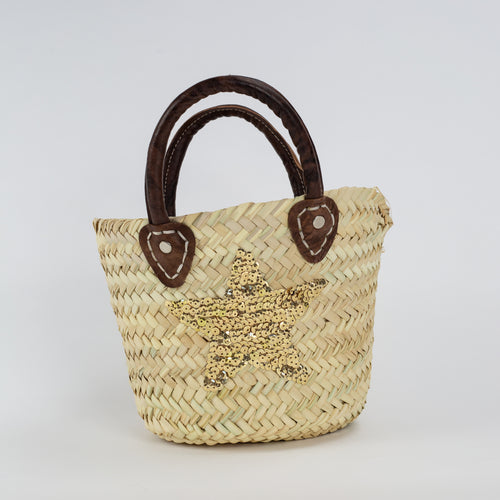 Mini Basket - Gold Star