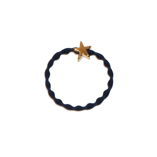 Star Wristee - Navy and Gold