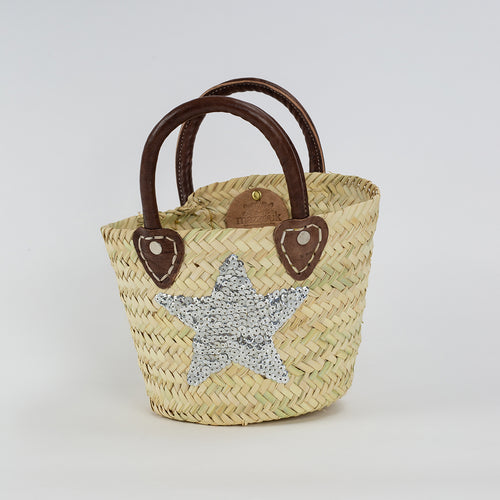 Mini Basket - Silver Star
