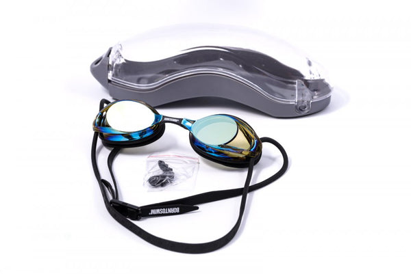 Adult Freedom Swim Goggles with Mirror Lenses