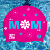 Regular Silicone Swim Cap - Best Mom Ever