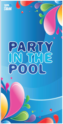 PARTY IN THE POOL Limited Edition Microfiber Towel