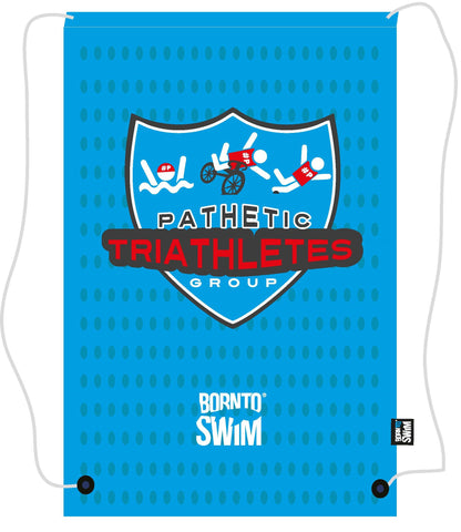 PATHETIC TRIATHLETES GROUP Swim Gear String Mesh Bag