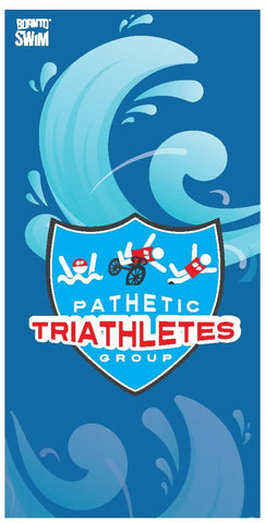 PATHETIC TRIATHLETES GROUP Limited Edition Microfiber Towel