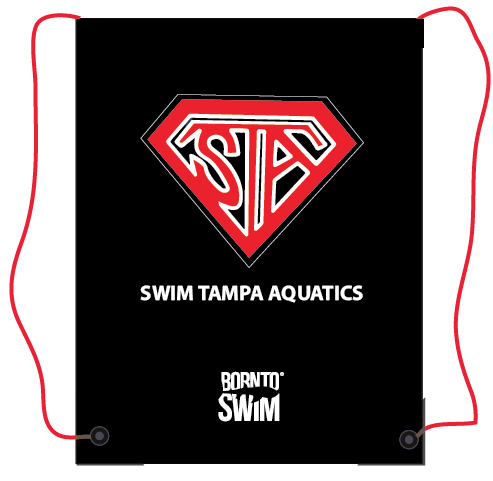 SWIM TAMPA AQUATICS Swim Gear String Mesh Bag