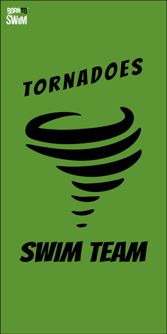 TORNADOES SWIM TEAM Limited Edition Microfiber Towel