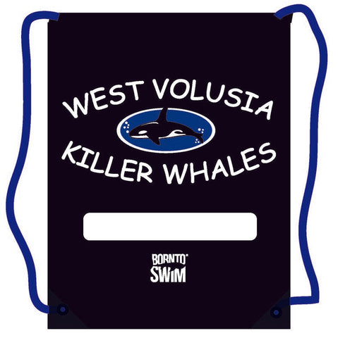 WEST VOLUSIA KILLER WHALES Swim Gear String Bag