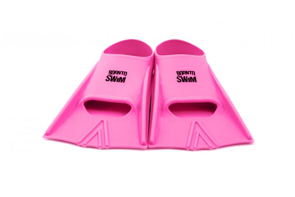 Adult Silicone Swim Fins - Pink