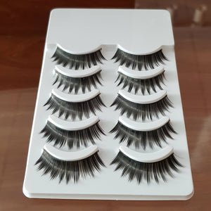 He 238 Pack of 5 pairs size 6 Fake eye lashes