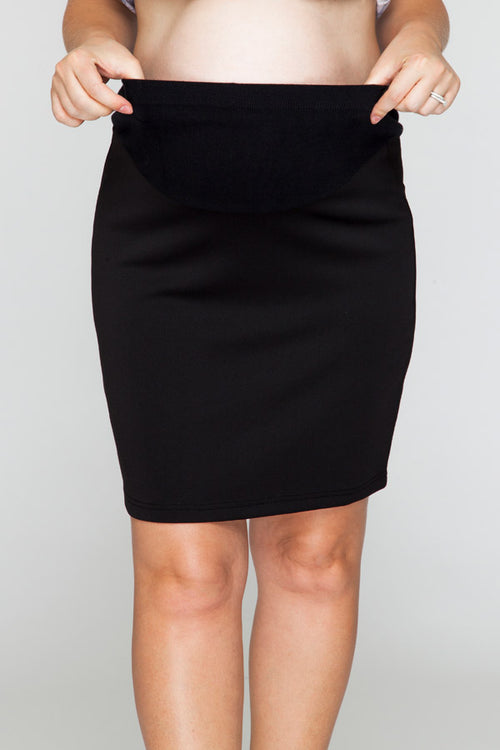 Corporate Belly Black Skirt