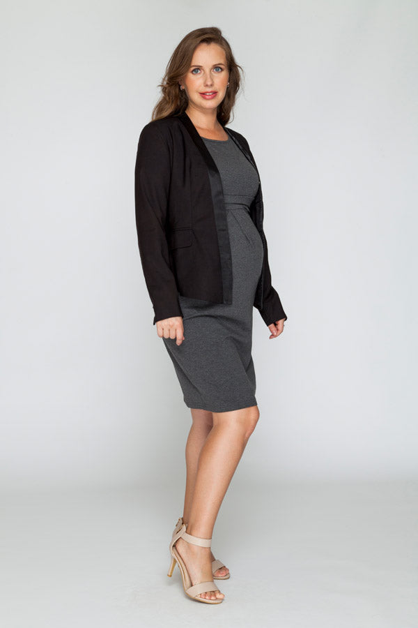 Black Belly Blazer - Bubba Belly Maternity Wear