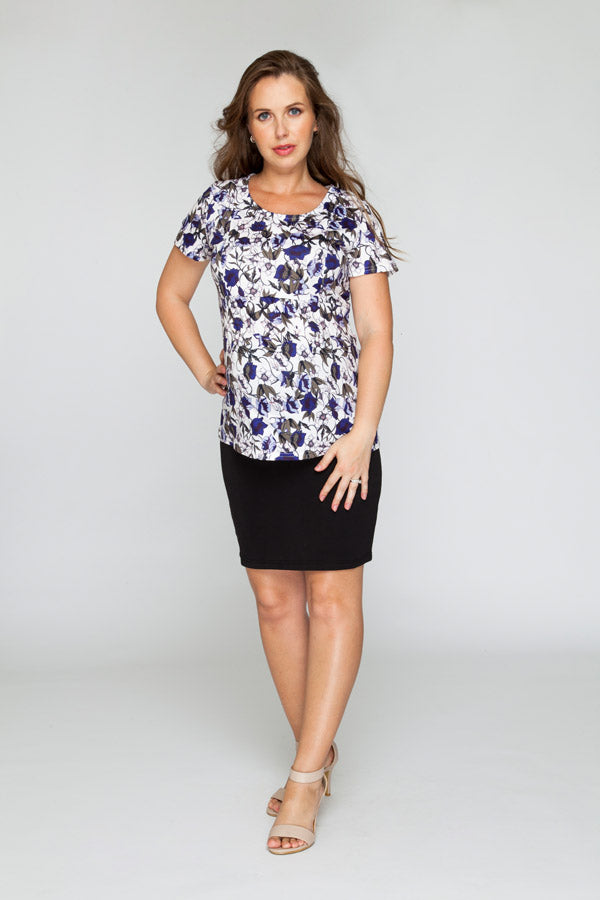 Corporate Belly Black Skirt - Bubba Belly Maternity Wear