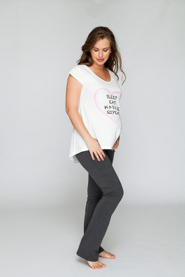 Maternity Yoga Pants - Bubba Belly Maternity Wear