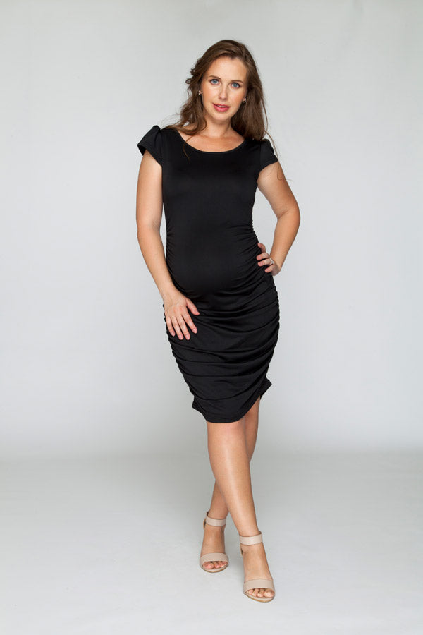 My Belly Black Dress - Bubba Belly Maternity Wear