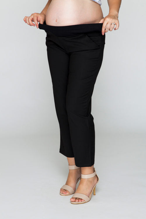 Cropped Black Pants