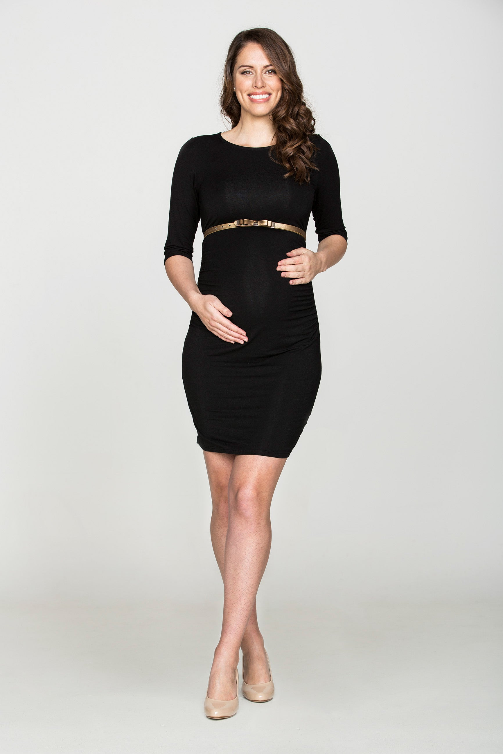 Black Elegance Dress - Bubba Belly Maternity Wear