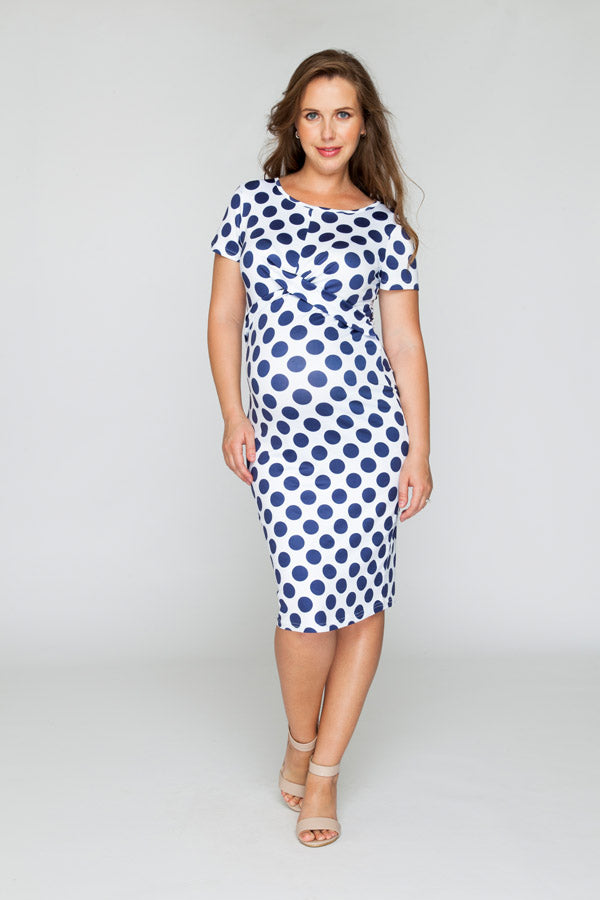 Spot My Belly Dress - Bubba Belly Maternity Wear