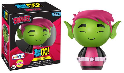 Funko Dorbz Teen Titans GO! #224 Beast Boy (Pink Hair) Toys R Us Exclusive Limited Edition Chase