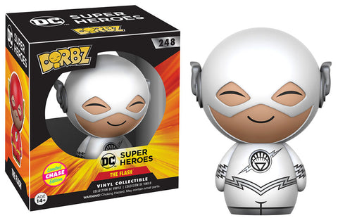 Funko Dorbz DC Super Heroes #248 The Flash (White Lantern) Limited Edition Chase