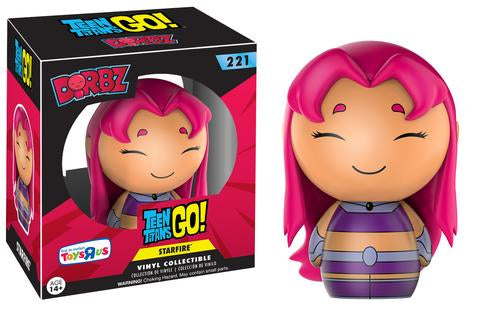 Funko Dorbz Teen Titans GO! #221 Starfire Toys R Us First to Market Exclusive