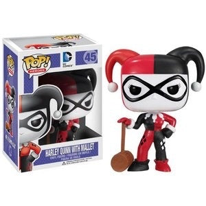 Funko Pop! Heroes - # 45 Harley Quinn with Mallet