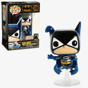 Funko Pops! Heroes Bat Mite First Appearance Metallic #300