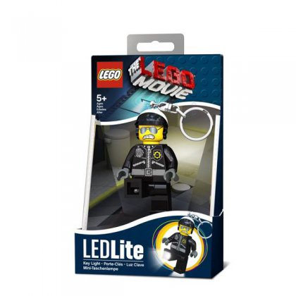 LEGO Movie Bad Cop LED Keychain Flashlight