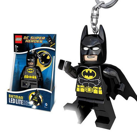 LEGO DC Super Heroes Batman LED Keychain Flashlight
