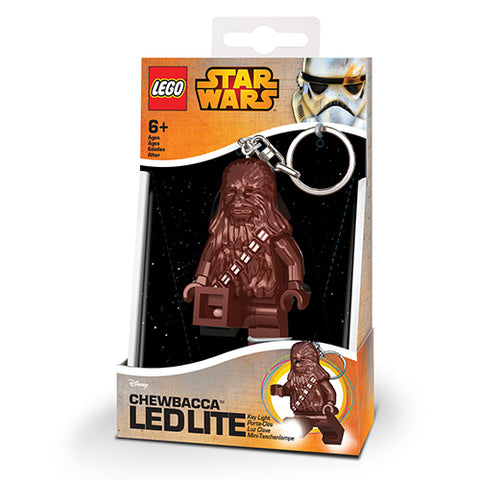 LEGO Star Wars Chewbacca LED Keychain Flashlight