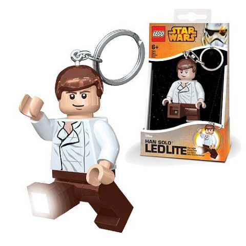 LEGO Star Wars Han Solo LED Keychain Flashlight