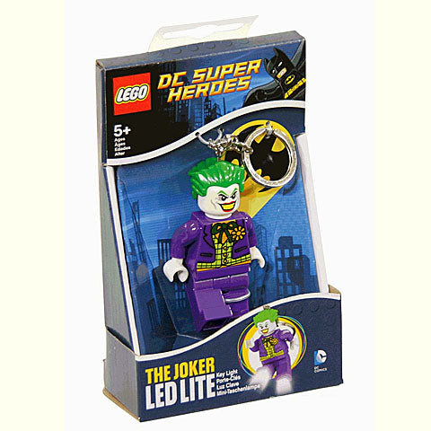 LEGO DC Super Heroes Joker LED Keychain Flashlight