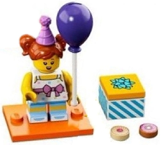 LEGO Series 18 (40 Years) Minifigures Birthday Party Girl