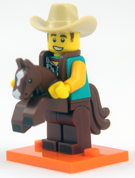 LEGO Series 18 (40 Years) Minifigures Cowboy Costume Guy