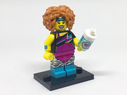 LEGO Series 17 Minifigures Dance Instructor