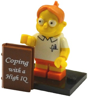LEGO Simpsons Series 2 Minifigures Martin Prince