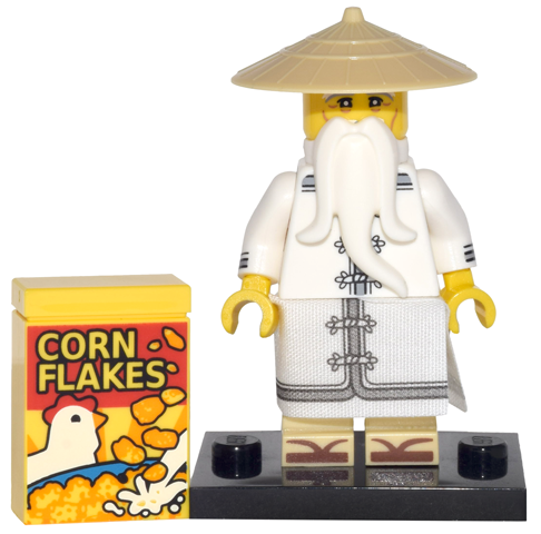 LEGO Ninjago Movie Minifigures Master Wu