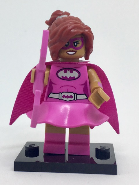 LEGO Batman Movie Series 1 Minifigures Pink Power Batgirl