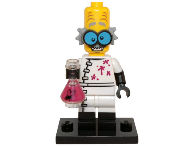 LEGO Series 14 Monsters Minifigures Scientist Monster