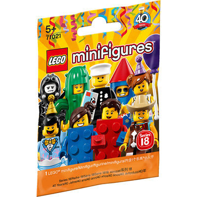 LEGO Series 18 (40 Years) Minifigures Blind Package