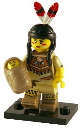 LEGO Series 15 Minifigures Tribal Woman