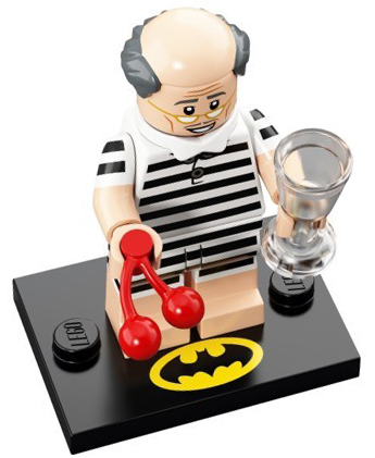 LEGO Batman Movie Series 2 Minifigures Vacation Alfred Pennyworth