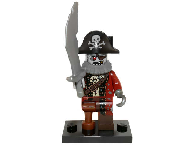 LEGO Series 14 Monsters Minifigures Zombie Pirate