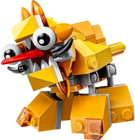 LEGO Mixels Series 5 (Yellow) Spugg