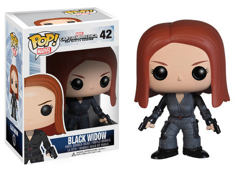 Funko Pop! Marvel Captain America Winter Soldier #42 Black Widow