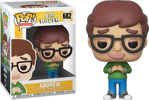 Funko Pop! Television Big Mouth #682 Andrew