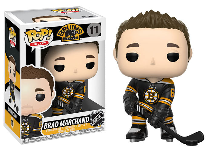 Funko Pop! Hockey NHL Boston Bruins #11 Brad Marchand