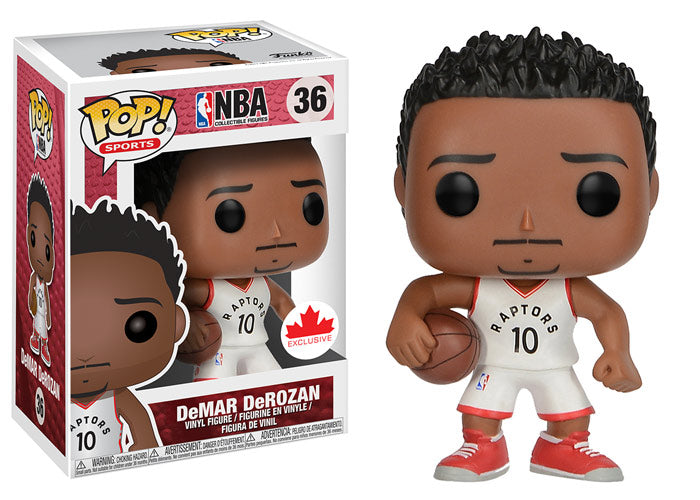 Funko Pop! Basketball NBA Toronto Raptors #36 DeMar DeRozan Canadian Exclusive