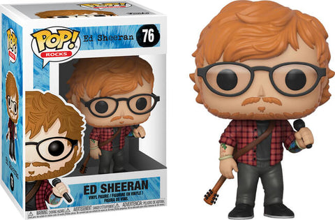 Funko Pop! Rocks Ed Sheeran #76
